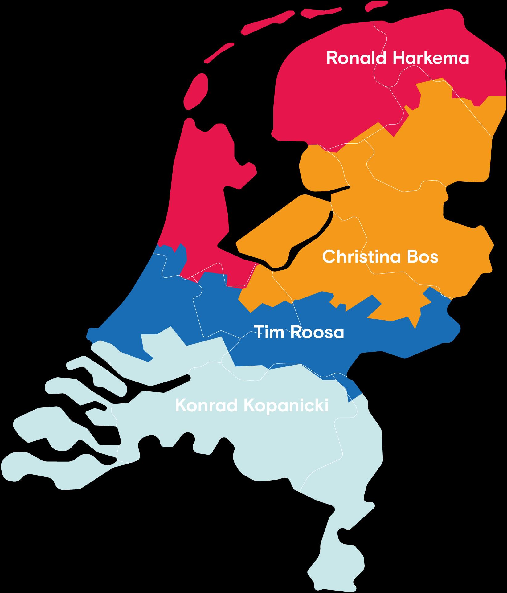 landkaart rayon