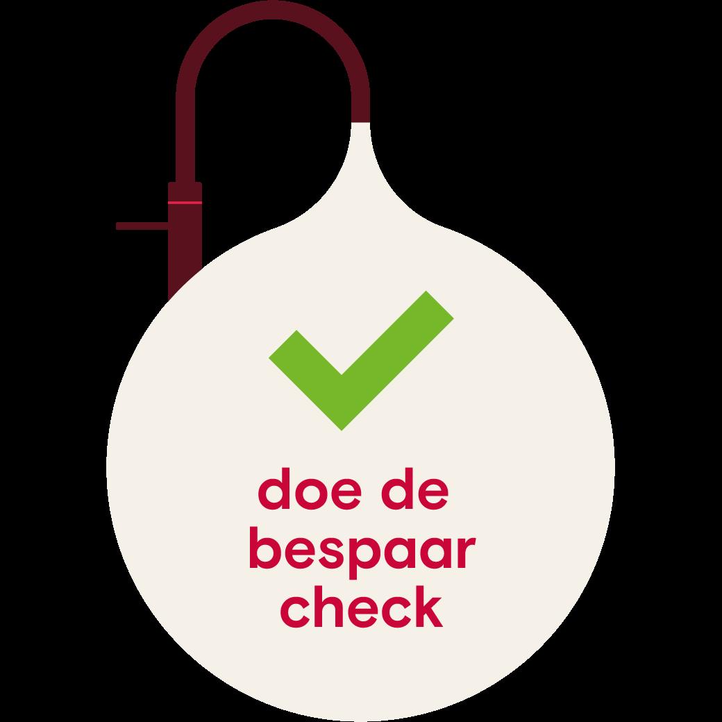 savings check logo